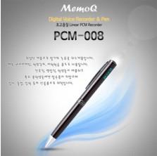 ★PCM-008(1GB)★ 간편조작 IC방식 ALC리모콘 디지털 음성보이스펜 강의회의 어학학습 영어회화 특수비밀 볼펜녹음기